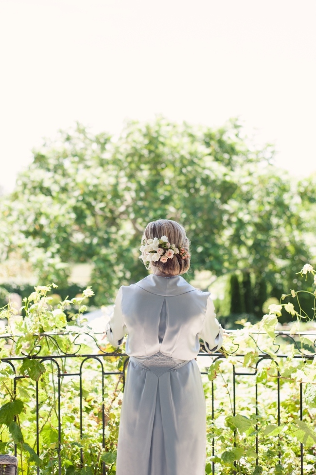 Chloe Robe Bridal Image